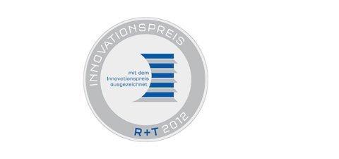 Siegel Innovationspreis 2012 der R&T